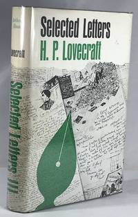 Selected Letters III H.P. Lovecraft