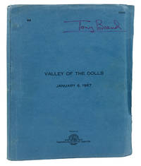 Final draft script for Valley of the Dolls