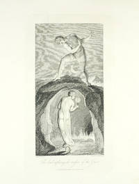 """""""The Soul exploring the recesses of the Grave."""" A single plate from Robert Blair's The Grave."""