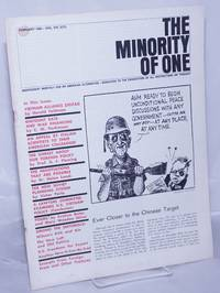 image of The minority of one; 1966, Feb, Vol. 8 No. 75 (whole number) independent monthly publication, dedicated to the elimination of all thought restrictions except for the truth [subhead later modified to read] Independent monthly for an American alternative --dedicated to the eradication of all restrictions on thought [broken run, 67 unduplicated items]