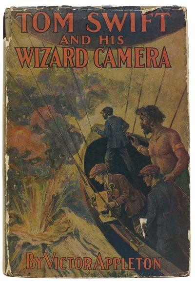 New York: Grosset & Dunlap, 1912. Later edition, circa 1930. Mustard cloth with 4 quadrant vignette ...