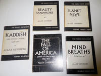 Mind Breaths / Planet News / The Fall of America / Kaddish / Reality Sandwiches (5 City Lights Paperback Books all from the library of poet Kenneth Irby)