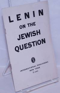 image of Lenin on the Jewish Question