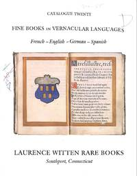 Catalogue 20/n.d.: Fine books in vernacular languages. French - English -  German - Spanish.