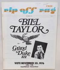image of Rip Off Rag: San Francisco's camp newspaper, vol. 1, no. 9, October 1976