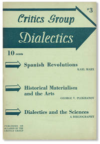 Dialectics : A Marxist Literary Journal, No. 3