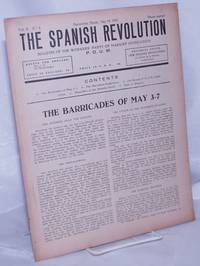 image of The Spanish revolution;  vol. 2, no. 8, May 19, 1937 weekly bulletin of the Workers' Party of Marxist Unification of Spain, P.O.U.M., vol. II, no. 8, May 19, 1937
