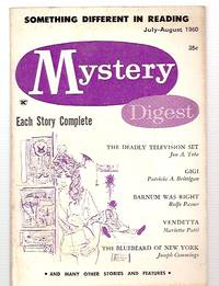 image of Mystery Digest Vol. 4 No. 4 July-August 1960