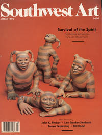 image of SOUTHWEST ART : Volume 21, No 10,  March 1992