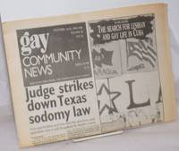 image of GCN: Gay Community News; the weekly for lesbians and gay males; vol. 18, #22, December 16-22, 1990: The Search for Lesbian_Gay Life in Cuba