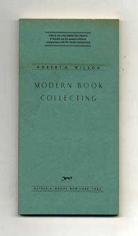 Modern Book Collecting  - Uncorrected Proof