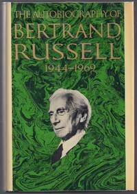 image of The Autobiography of Bertrand Russell; 1944 - 1969