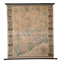 Clark's Map of Fairfield County, Connecticut