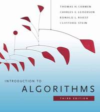 Introduction to Algorithms  3rd Edition The MIT Press