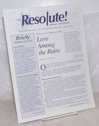 image of Resolute! dedicated to surviving HIV/AIDS; regional publication of the PWA Coalition Colorado; August 1999