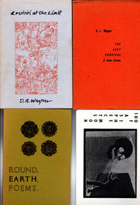 D.R. Wagner Poems & Chapbooks Inscribed to B.L. Kennedy and Other Wagner Ephemera [Union Camp Papers; Cruisin' To the Limit; Round Earth Poems; One Hundred Aspects of the Moon; Lost Carnival; April 15 April 16; others]