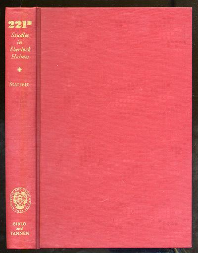 New York: Biblo and Tannen, 1969. Hardcover. Fine. Reprint. Fine lacking the dustwrapper.