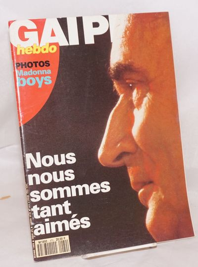 Paris: Triangle Rose, 1991. Magazine. 84p., including covers, 8.75x11.75 inches, text in French, ill...