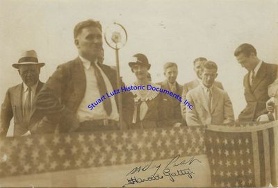 WILEY POST (1898-1935). An early pilot, Post was the first pilot to do a solo circumnavigation. Post...
