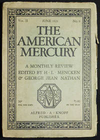 Absolution [in The American Mercury: A Monthly Review edited by H.L. Mencken & George Jean Nathan June 1924 vol. 2 no. 6]