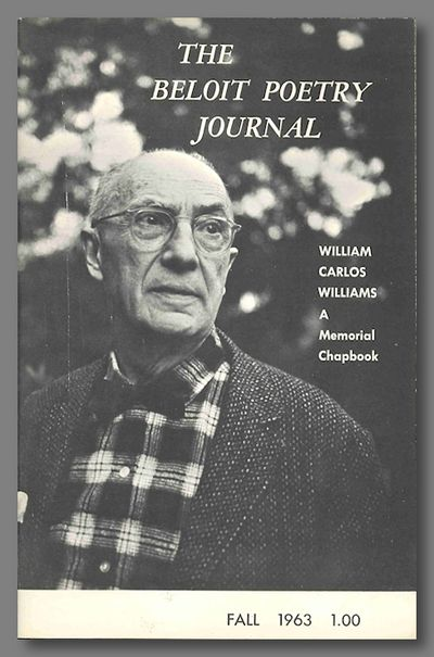 Beloit, 1963. XIV:1. Pictorial wrappers. A special issue/chapbook, featuring distinguished poets wri...