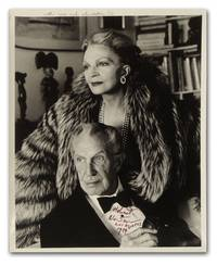 Original Portrait Photograph of Actor Vincent Price and His Wife