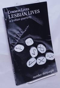 image of Common Lives/Lesbian Lives: a lesbian quarterly; #38, Spring 1991