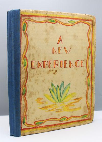 Oakland, California: April 1938 Original paper-covered boards decorated in watercolor. Quarto. With ...