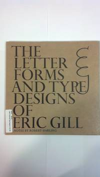 image of Letter Forms and Type Designs of Eric Gill