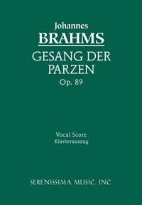 Gesang der Parzen, Op.89