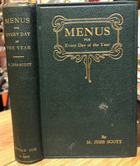 image of Menus for Every Day of the Year : With 828 Recipes