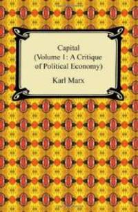 image of Capital (Volume 1: A Critique of Political Economy)