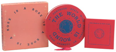 SF: Arion Press, 1986. Paperback. Very good. 400cc. Pink cloth circular boards printed in blue with ...