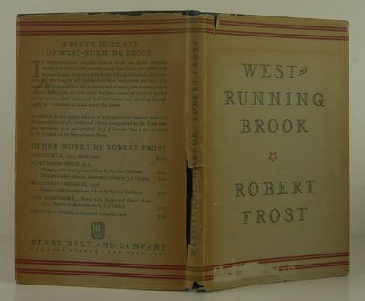 Henry Holt and Company, 1928. 1st Edition. Hardcover. Near Fine/Very Good. Near fine in a very good ...