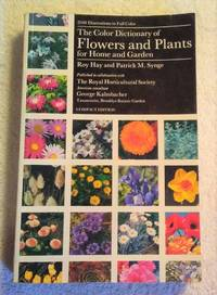 image of THE COLOR DICTIONARY OF FLOWERS & PLANTS FOR HOME & GARDEN