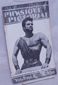 image of Physique Pictorial vol. 9, #2, Summer [released September] 1959: Steve Reeves cover