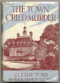 New York: Charles Scribner's Sons, 1939. Hardcover. Fine/Very Good. First edition. Slight offsetting...