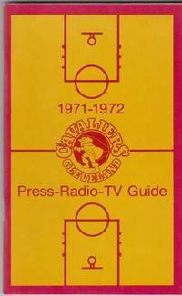 1971-1972 Cleveland Cavaliers Press-Radio-TV Guide