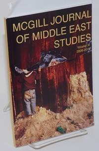 image of McGill journal of middle east studies / Revue d'etudes du moyen-orient de McGill. Volume XI, 2009-2010