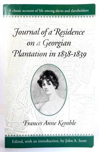 image of Journal of a Residence on a Georgian Plantation in 1838-1839 (Brown Thrasher Books)