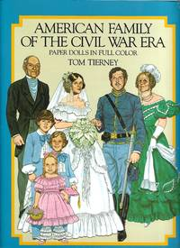 image of American Family of the Civil War Era Paper Dolls in Full Color