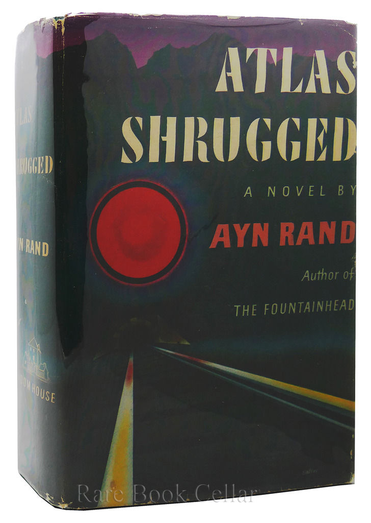 Atlas Shrugged By Rand Ayn Biblio Com