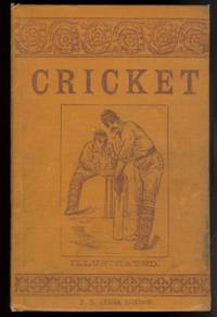 image of THE MANUAL OF CRICKET.  ILLUSTRATED.