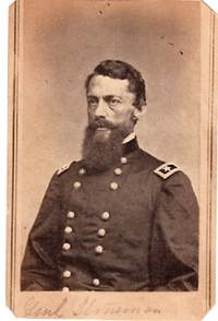 CARTE DE VISITE OF AMERICAN CIVIL WAR GENERAL GEORGE STONEMAN, PHOTOGRAPHED BY MATHEW BRADY