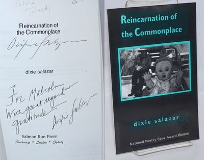 Anchorage: Salmon Run Press, 1999. Paperback. 60p., personal inscription signed twice by the poet on...