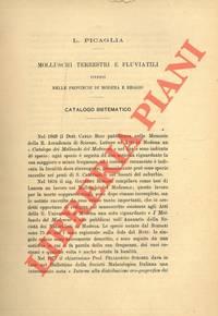 Molluschi terrestri e fluviatili viventi nelle provincie di Modena e Reggio.