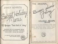 """The Original Sugar plum Fairy Holiday Recipe Book: featruing over sixty  outstanding recipes ideas stolen from... (&)  Inner School's Secret  Holiday Menu of Recipes that Got A """"way"""""""