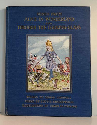London: A. & C. Black, 1921. 1st ed.. Hardcover. Near Fine. Folkard, Charles. 1st ptg., 4to full blu...