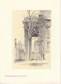 Original 1922 Print of Portico St. John's Church Varick Street New York by O. R. Eggers - 1st edition thus - 1922 - from biblioboy (SKU: 632265)