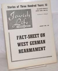 image of Jewish life, a progressive monthly, Jan, 1955, vol. 9, no. 2 (99)